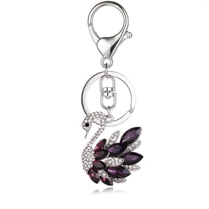 The Black Swan Key Chain