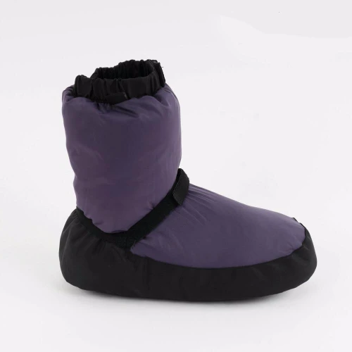 purple ballet warm up booties dance