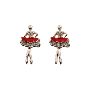 kitri ballerina earrings