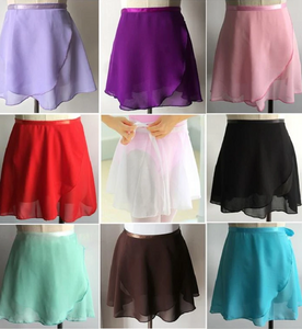 ballet wrap skirts in different colors