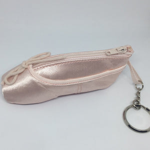 Ballet Ballerina Pointe Shoe Coin Purse keychain