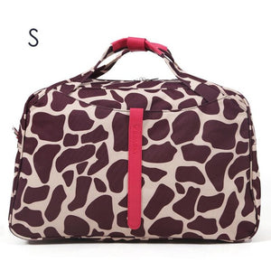 giraffe print dance bag