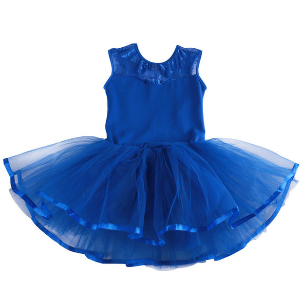 girls blue tutu dress