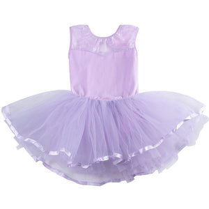 girls lavender tutu dress