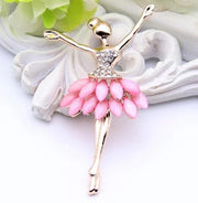 ballerina fashion pin