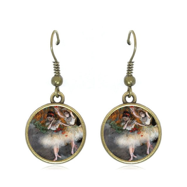 Degas Ballerina Earrings