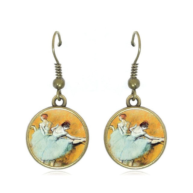 The Degas Ballerina Drop Earrings