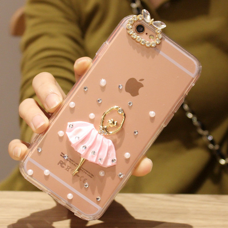 The Dahlia Ballerina iPhone Case