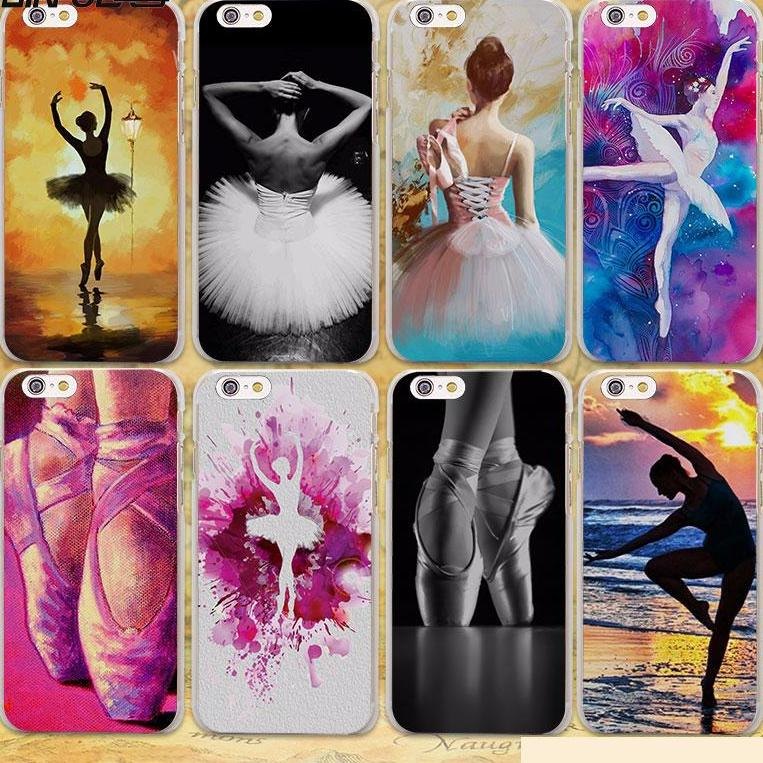 cas d'iphone de ballerine