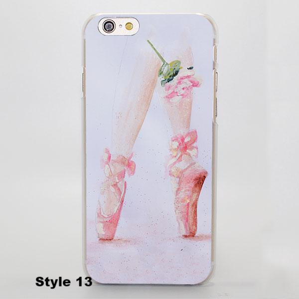 bailarina pointe shoes iphone case