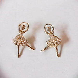 Pearl Ballerina Earrings