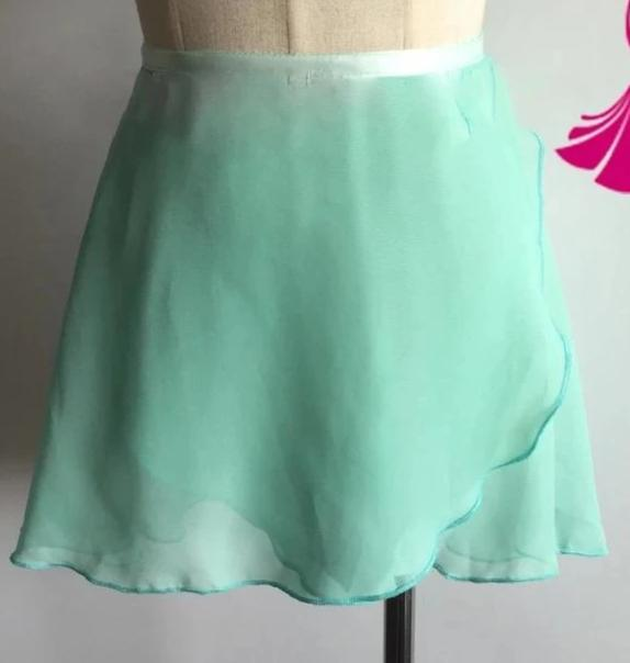 sea foam green ballet skirt