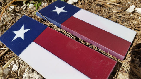 Texas Flag,  Straight, Pre Order - Scale Set
