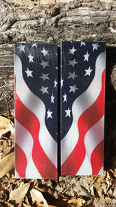 American Flag Wavy - Pre-Order - Scale Set
