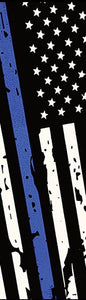 "Thin Blue Line,  6 x 1 3/4 x 1/4"" Pre-Order - Scale Set"