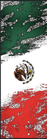 "Mexican Flag - 6"" x 1 3/4"" x 1/4"" Scale Set Pre-Order"
