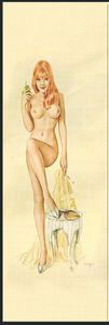 "Poster Girls Yellow - 6"" x 1 3/4"" x 1/4"" Scale Set - Pre-Order"