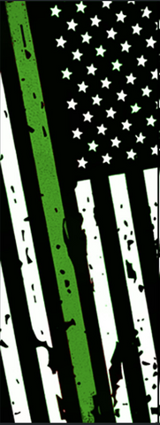 "Thin Green Line - 6"" x 1 3/4"" x 1/4"" Scale Set - Pre-Order"