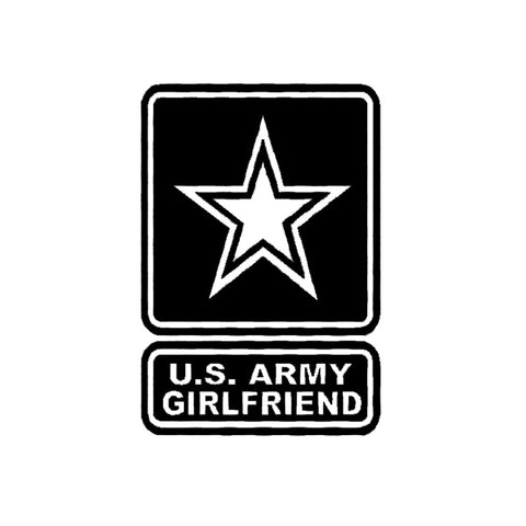 Army Girlfriend Decal
