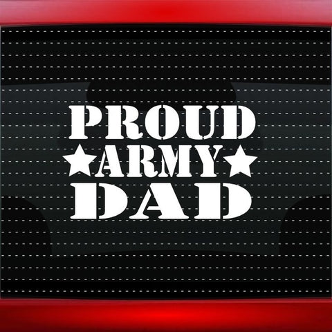 Proud Army Dad Sticker