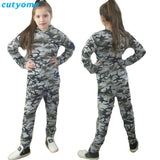Long Sleeve T Shirt And Camouflage Pants