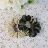 Headwear Hair Camouflage Ribbons Ponytail Holder Hair Tie Band  Women Hair Accessories Fabric Hair Bands