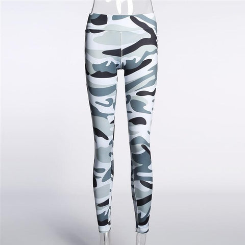Weekeep Fitness Sporting Leggings Women Workout Leggings Summer Sporter Skinny Camouflage Women Leggings Adventure Time Bottom