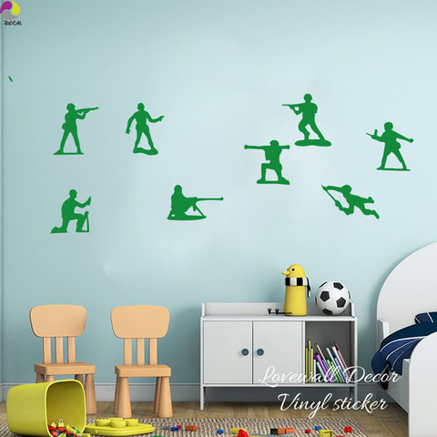 Toy Soldiers Wall Vinyl Decal