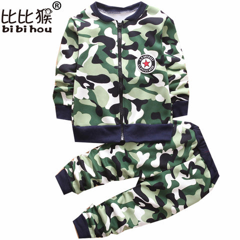 Kids Camouflage Clothing Set