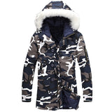 Military Hooded Tactical Windproof Camouflage Parka