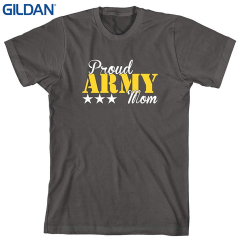 Proud Army Mom Cotton T Shirt