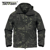 Men's Camouflage Waterproof Soft Shell Jacket