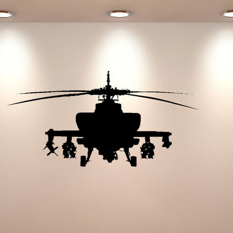 LARGE ARMY HELECOPTER WALL MURAL