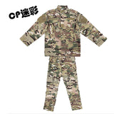 Tactical Children's Camouflage Army ACU CP Combat Uniform