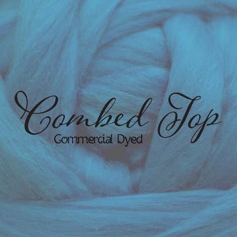 Combed Top - Commercial Dyed