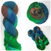 Mineral Ridge - Hand dyed Yarn  -Brown blue green