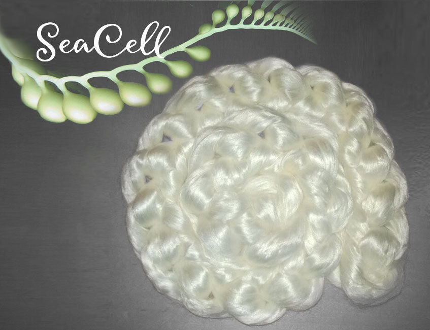 PEARL FIBER Undyed Luxury Combed Top Cellulose Infused Pearl Roving