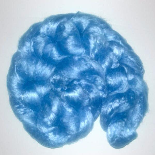Pearl Infused Rose fiber- Eco Friendly- Nano Pearl Dust - Periwinkle