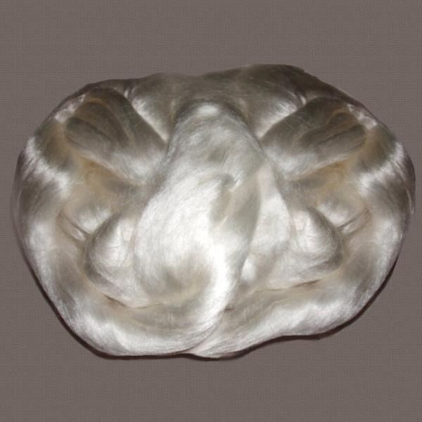 Tencel Combed Top - Roving -8oz - cellulose fiber for spinning felting