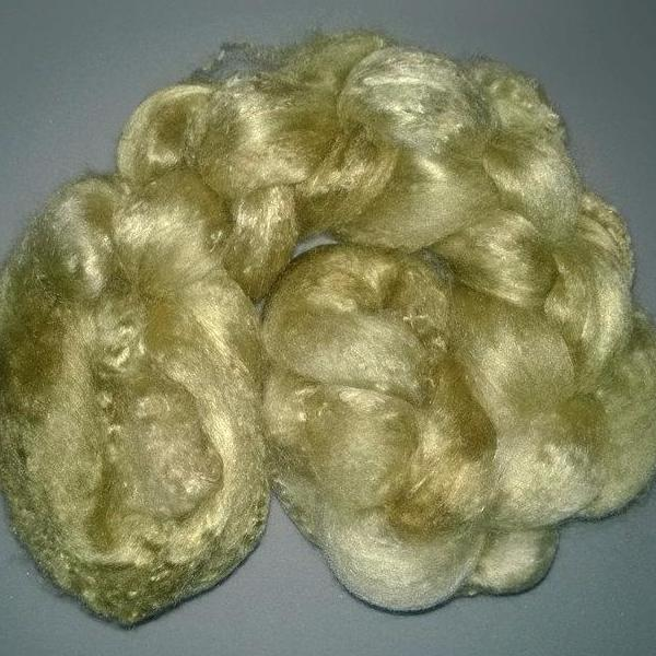 Pearl Infused Rose fiber- Eco Friendly- Nano Pearl Dust - Moss