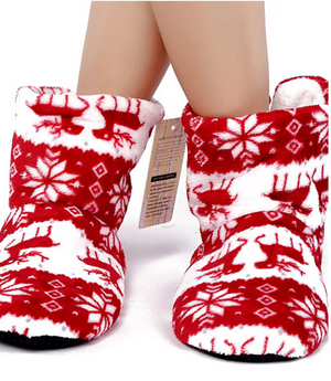 Super Soft Wool Boot Slippers