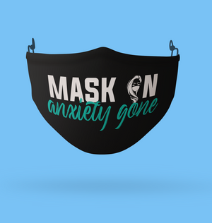 mental health mask, anxiety mask, cute masks, masks canada, masks kitchener, masks waterloo, masks waterloo