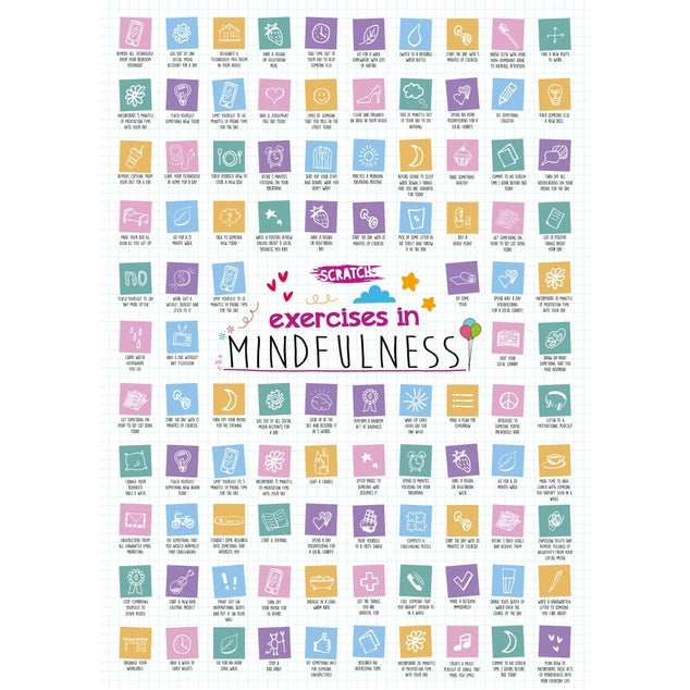 mindfulness activities, mindfulness ideas, classroom mindfulness, mindfulness activities for kids, random acts of kindness scratch poster, classroom poster, classroom scratch poster,