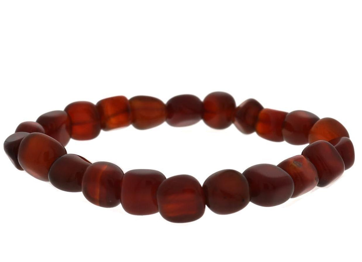 Red Agate Healing Stone Bracelet: negativity and motivation