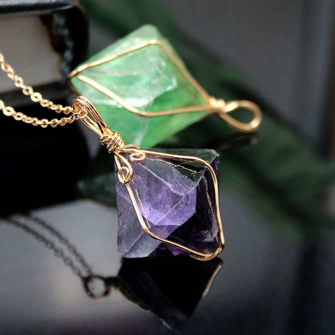 fluorite necklace, handmade gemstone necklaces, gemstone necklaces, gemstone jewelry, fluorite jewelry,