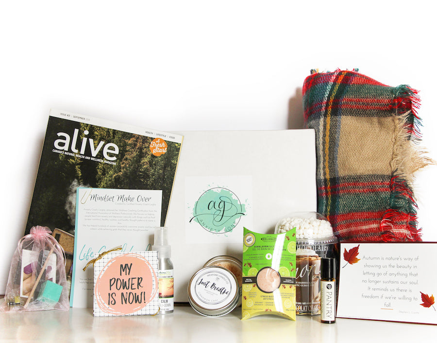 anxiety box, anxiety subscription box, subscription boxes, best subscription boxes, subscription boxes for women, wellness subscription boxes, anxiety store, online anxiety store, anxiety relief