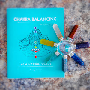 chakra balancing, chakra kit, chakra bracelet, chakra stones, how to balance chakras, ways to balance chakras, energy healing, chakra healing, mental health subscription box,