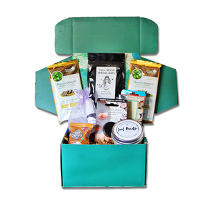 self care gift box, mental health gift box, mental health gift set, calm box, therapy box, anxiety subscription box