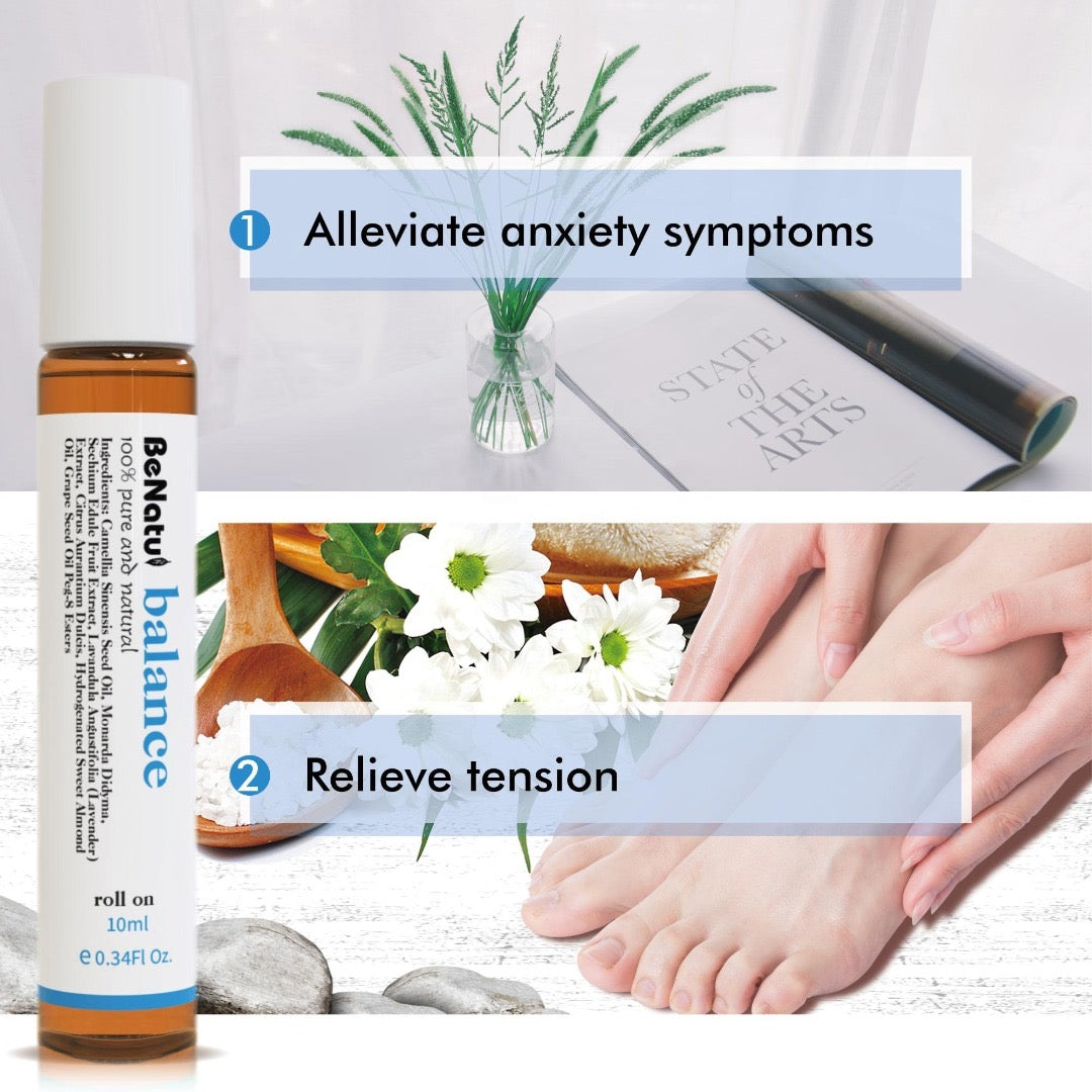 anxiety essential oils, essential oils for anxiety, mental health essential oils, essential oils for mental health, essential oil kits, essential oil packs, essential oil gift sets, essential oil roll ons, balance essential oils