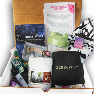 warrior wellness box, canadian subscription box, anxiety relief, anxiety subscription box, anxiety products, self improvement, self growth, self help, mental health subscription box,